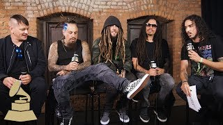 Korn Talks Legacy, Machine Gun Kelly & Advice for Aspiring Musicians | The Recording Academy