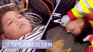 Geburtstag endet tragisch: Simon (10) & Erwin (15) brechen zusammen! | Die Spezialisten | SAT.1