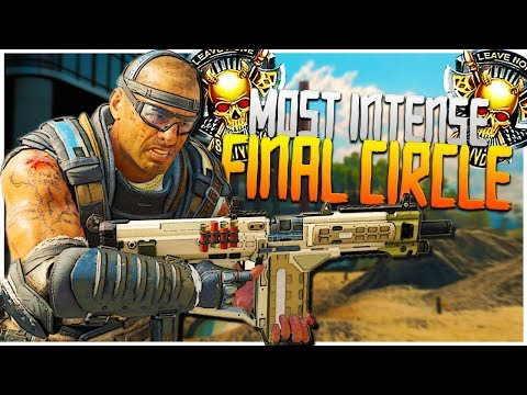 Xxx Mp4 The MOST INTENSE Final Circle PS4 Black Ops 4 Blackout BR Solo Victory 3gp Sex