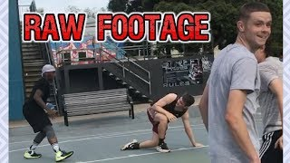 Professor and Bone Collector vs Fans in Australia RAW FOOTAGE