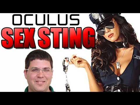 Oculus Rift VR Dev CAUGHT by Cops in Underage SEX STING