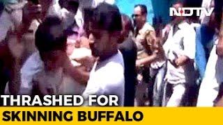 6 Aligarh Men Thrashed For Skinning Buffalo, Case Against Them, Not Mob