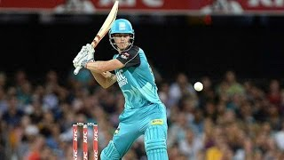 Chris Lynn smashes five sixes in a row (0.6.6.6.6.6)