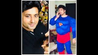 Desi superman fancy dress prank