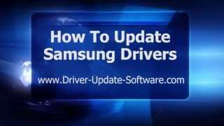 How To Download & Update Samsung Drivers