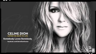 Celine Dion - Somebody Loves Somebody (New Song 2013)