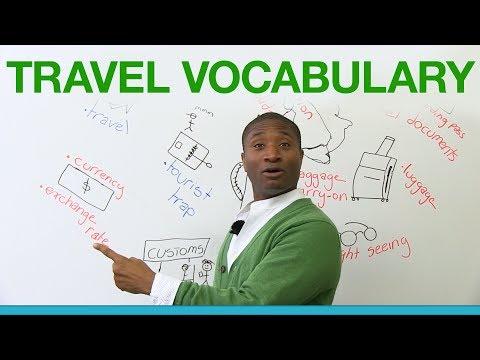 Learn English Travel Vocabulary