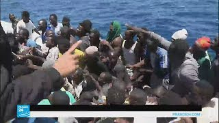 إنقاذ 8300 مهاجر في المتوسط خلال 48 ساعة