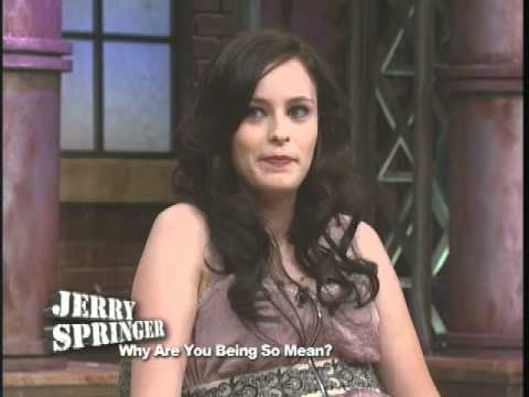 Why Are You Being So Mean The Jerry Springer Show