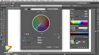 Illustrator CS6 : Préparation des couleurs de l'illustration