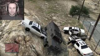 Seananners GTA 5 Compilation Part 1 [Funny Moments, Glitches etc]