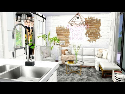 Xxx Mp4 The Sims 4 Apartment Build Tiny Chic Studio Apartment Downlad Links 3gp Sex