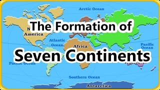 Download 7 Continents - Geography For Kids, The Formation of Continents, Educational cartoons 3Gp Mp4