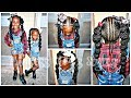 Download Video Download Girls Quick & Easy Hairstyle | Children's Natural Hair Care 3GP MP4 FLV