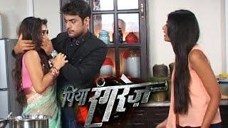 Download Aaradhya & Sher's Watermelon Fight | Piya Rangrezz | 25th April 2016 Episode | On Location Shoot 3Gp Mp4