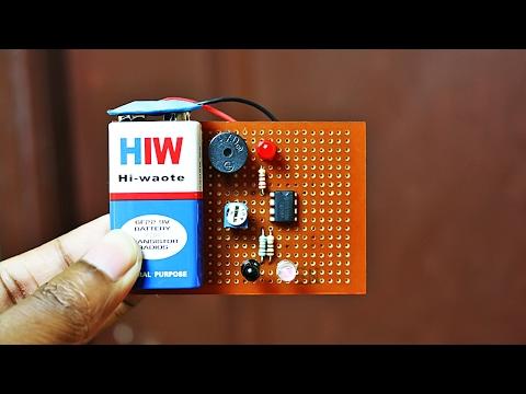 How to Make an IR Proximity Sensor Touchless Door Bell