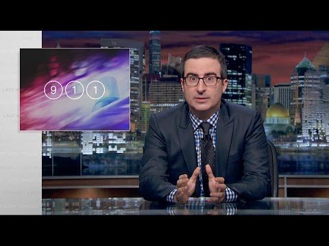 911 Last Week Tonight with John Oliver HBO