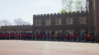 LIVE: Official opening of Commonwealth Heads of Government Meeting at Buckingham Palace