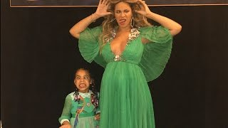 Beyonce and Blue Ivy Look Like Disney Princesses at