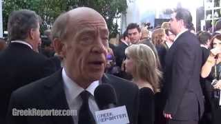 J.K. Simmons Talks about His New Greek Movie after