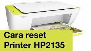 Cara reset printer hp ink advantage 2135 yang kedip