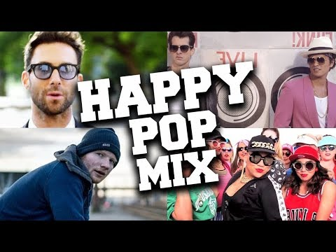 Best Happy Pop Songs That Make You Smile 😊 Most Popular Happy Pop Music Mix With Lyrics