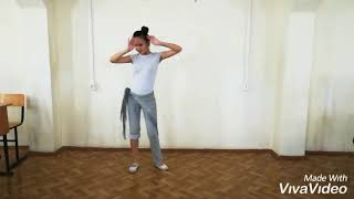 Online choreography baladi. BellyDance, Oriental dance, raks sharki