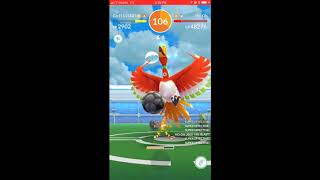 Girl Power! Trio Ho-oh in partly cloudy with Pkmn master holly and Zabowski