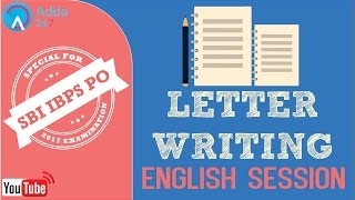 SBI PO 2017 | Letter Writing | English | Online Coaching for SBI IBPS Bank PO