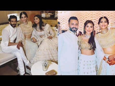 Unseen Inside highlights of Sonam Kapoor and Anand Ahuja's sangeet cum mehndi ceremony