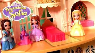 Castelo Mágico da Princesinha Sofia ToysBR Disney Sofia The First Magical Talking Castle