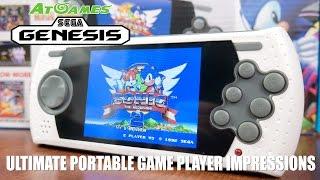 AtGames Sega Genesis Ultimate Portable Game Player Impressions