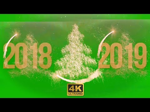 Xxx Mp4 2018 To 2019 Christmas Tree New Year Green Screen Footage Download Free 4K 3gp Sex