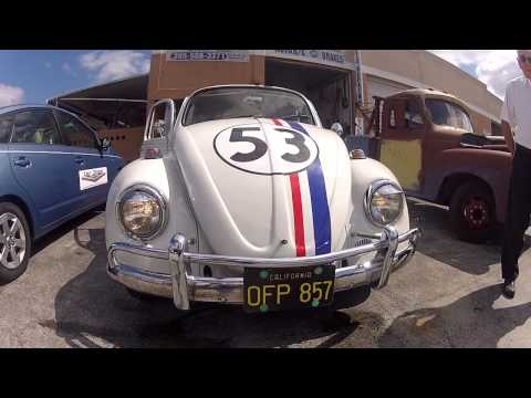 north perry airport plane and car show featuring herbie the love bug and mater car