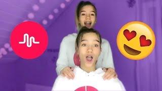 Lisa and Lena FEBRUARY Musical.ly Compilation  👯 | Lisaandlena