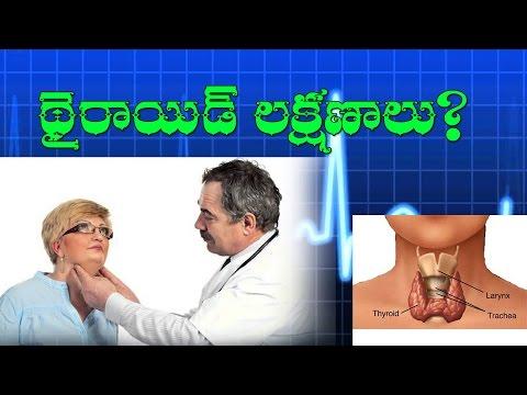 థైరాయిడ్ లక్షణాలు|Symptoms Of Thyroid|By TELUGU VEDIKA