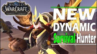 Battle for Azeroth ALPHA: NEW Survival Hunter DYNAMIC and DEVASTATING !!