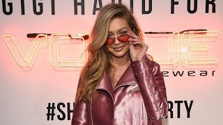 Gigi Hadid TOTALLY Looks Like Barbie in New Vogue Eyewear Promotion