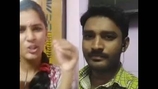 Raja Rani love scene Nazriya in Smule