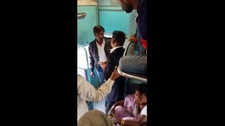 Dabangg and honest T.T EVER IN indian railways