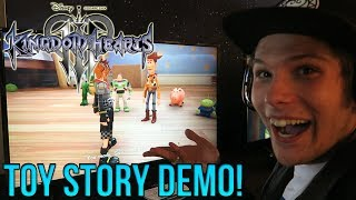 Kingdom Hearts 3 - HANDS ON TOY STORY DEMO GAMEPLAY!