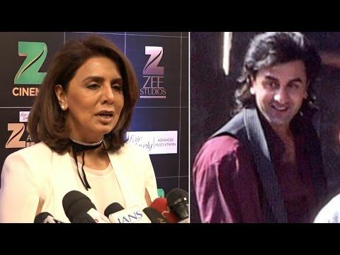 Ranbir Kapoor's mom Neetu Singh talks about his Sanjay Dutt Biopic LOOK