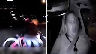 Police release Uber self-driving SUV crash video