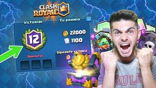 CÓMO HACER 12 VICTORIAS EN EL GRAN DESAFÍO!! - Clash Royale