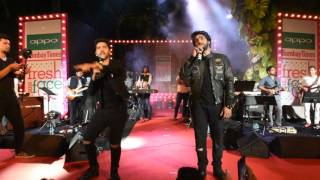 Amaal Mallik and Armaan Malik perform at Oppo Bombay Times Fresh Face 2016