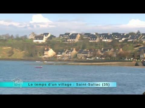 Reportage région direction le village de Saint Suliac
