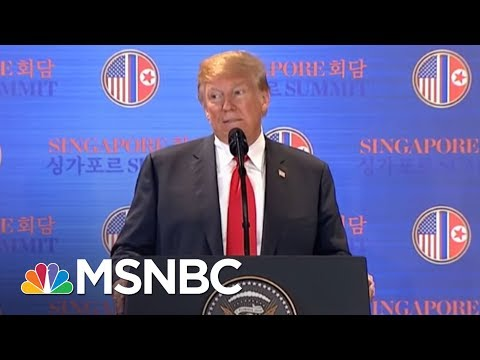 The Big Takeaways From President Donald Trump's News Conference | MSNBC