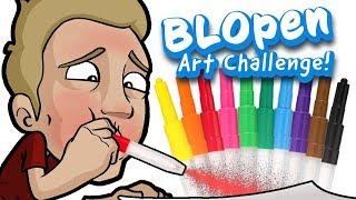 BLOPEN Art Challenge - EPIC Art with Children