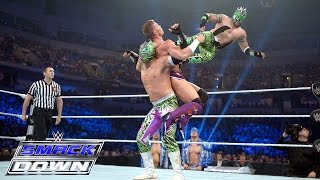 Cesaro & Tyson Kidd vs. The Lucha Dragons – Tag Team Lumberjack Match: SmackDown, May 28, 2015