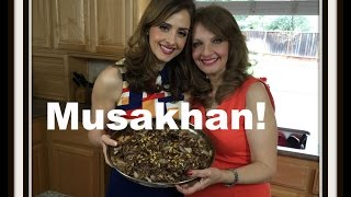 MUSAKHAN- NEW AND IMPROVED! Palestinian Chicken مسخن